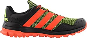 adidas Outdoor Slingshot Trail Running Shoe - Men's Solar Yellow/Solar Red/Black 12