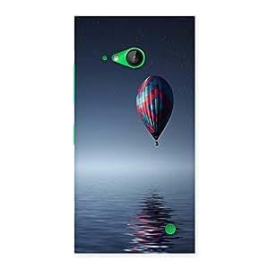 Ajay Enterprises Ocean Balloon Back Case Cover for Lumia 730