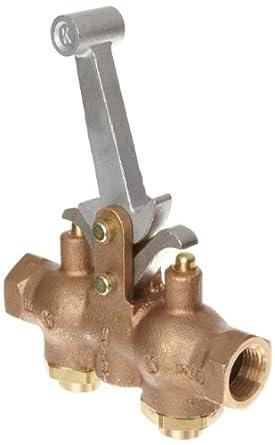 """Kingston 303 Series Brass Hoist Control Valve, 1/2"""" NPT Female"""