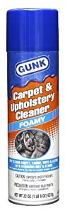 Gunk MPC22 Carpet and Upholstery Foam Cleaner - 22 oz.