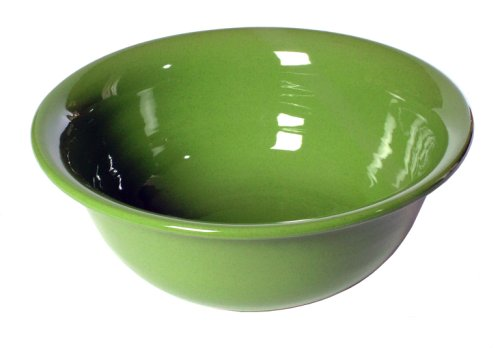Mamma Ro 14-Inch by 5-Inch Spaghetti Bowl, Apple