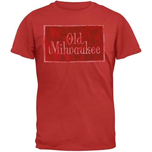 old-milwaukee-mens-logo-t-shirt-small-red