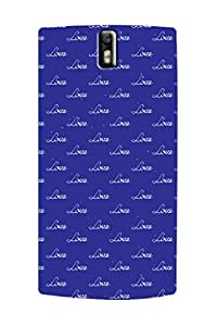 ZAPCASE PRINTED BACK COVER FOR ONE PLUS ONE