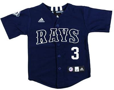 MLB Tampa Bay Devil Rays Evan Longoria #3 Toddler Jersey By Adidas