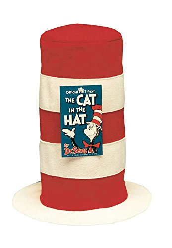 Hat Cat In Hat Halloween Costume - 1 Size