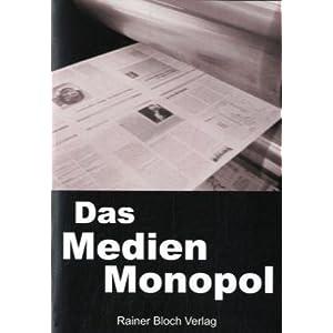 eBook Cover für  Das Medienmonopol Gedankenkontrolle und Manipulation der Dunkelm xE4 chte