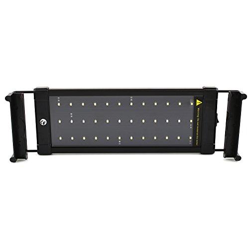 SIMBR-Aquarium-beleuchtung-Lampe-LED-Aufsetzleuchte-Schwarz-30-50cm