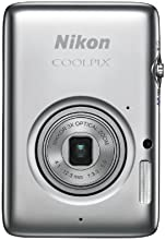 Nikon COOLPIX S02 13.2 MP Digital Camera with 3x Zoom NIKKOR Glass Lens and Full 1080p HD Video (Silver) (Old Model)