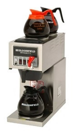 Bloomfield 9016D3F-240V Integrity 3 Warmer In-Line Automatic Coffee Brewer 120/2 (Inline Coffee Maker compare prices)