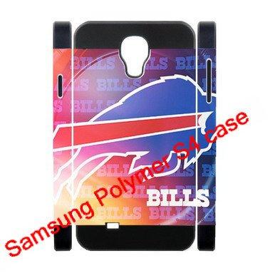 Dual-Protective Polymer Samsung Galaxy S4/S Iv/Siv 3D Hard Back Cases With Buffalo Bills Team Logo-Fits For Samsung Galaxy S4 C Spire Sch-R970X/ Verizon Sch-I545/ Metro Pcs Sgh-M919N/At&T Sgh-I337/ T-Mobile Sgh-M919/ U.S. Cellular Sch-R970/ Sprint Sph-L72