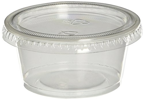 Polar Ice PIJS040200 Jello Shot Souffle Cups with Lids, 2-Ounce, Translucent, 40-Pack (2 Oz Plastic Cups With Lids compare prices)