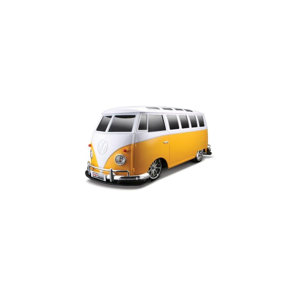 Maisto 110 Radio Control Volkswagen Van Samba (Colors May Vary)