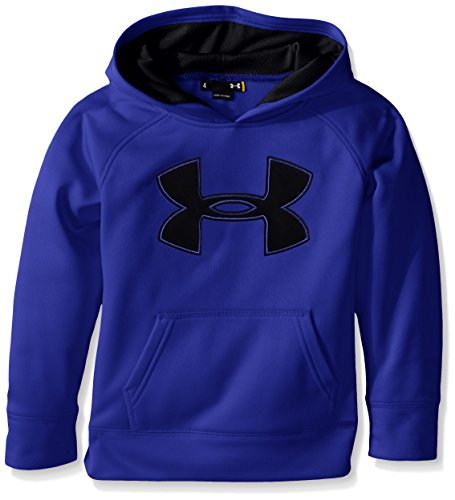 Under Armour Little Boys Big Logo Pull Over Hoody, Ultra Blue, 6