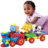 Quality Fisher-Price Amazing Animals Disney Sing-along Choo Choo Train with accompanying ChildSAFE Door Stops