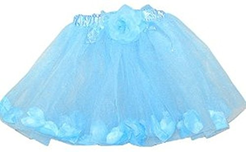 Rose Fairy Tutu with Petals (More Colors...) Select Color: blue