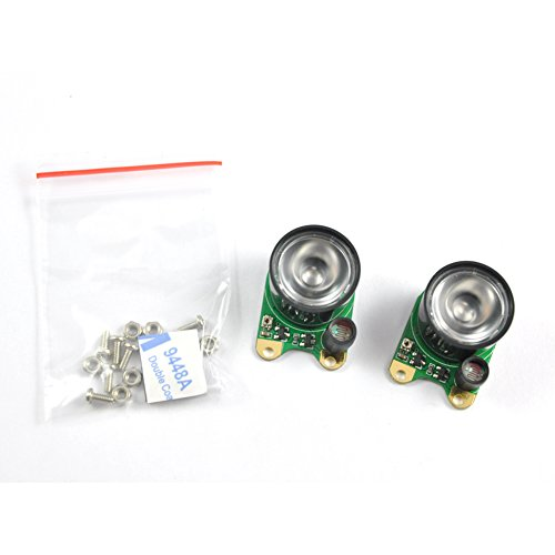 2Pcs Infrared Led Light 1W High Power 850 Infrared Ir Led Module With Adjustable Resistor Designed For Raspberry Pi