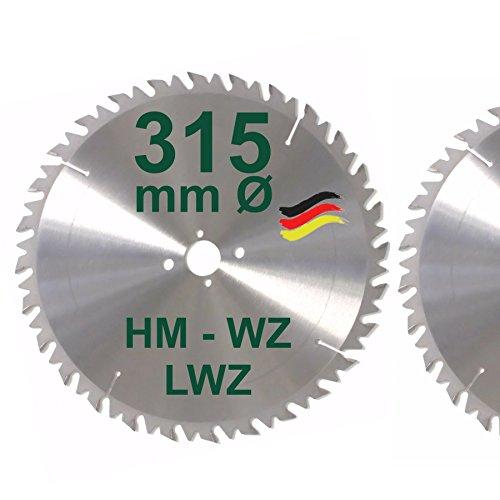 HM-Sgeblatt-315-x-30-mm-LWZ-Hartmetall-Wechselzahn-Przision-Kreissgeblatt-315mm-mit-Spanabweiser-fr-Naturholz-Brennholz-Hartholz-Leimholz-zum-Sgen-mit-Wippsge-Tischkreissge-Kreissge-Kappsge-Gehrungssg