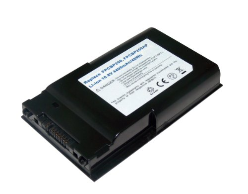 10.80V,4800mAh,Li-ion,6 Chamber,Replacement for FUJITSU LifeBook T1010, T1010LA, T4310, T4410, T5010, T5010A, T5010ALA, T5010W, T730, T730TRNS, T731, T900, T900TRNS, T901, TH700 Laptop Battery, Compatible Pull apart Numbers: FPCBP200, FPCBP200AP, FPCBP215