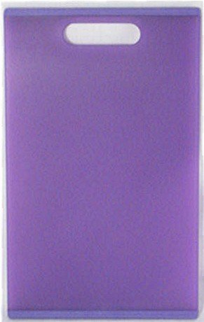 Colour Grip 12-Inch Cutting Board, Purple