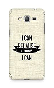 Amez I Can because I Think Back Cover For Samsung Galaxy Grand Prime