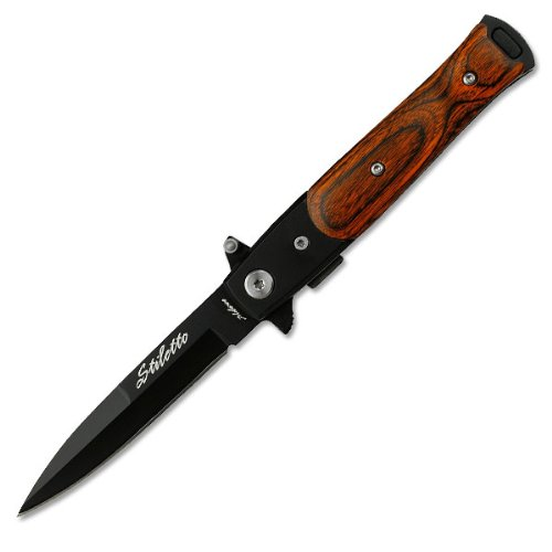 Tac Force Tf-438Wb Assisted Opening Folding Knife 4-Inch Closed