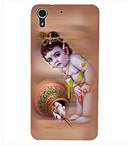 ColourCraft Lord Bal Gopal Design Back Case Cover for HTC DESIRE 626