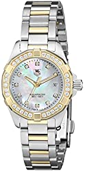 TAG Heuer Women's WAY1453.BD0922 Aquaracer Analog Display Analog Quartz Two Tone Watch