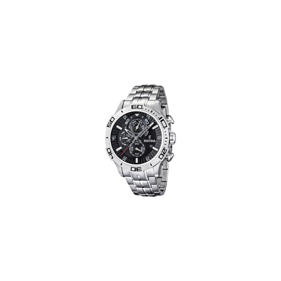 Armbanduhr Schwarz Chronograph Festina F165654 Herren b7f6vYgy