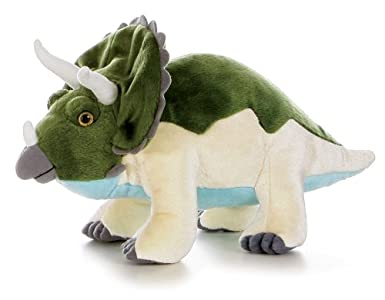 12 Stuffed Triceratops Dinoasur