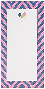 George Stanley Girl Birthday Balloons Tea Length Imprintable Invitation, 10-Count (46092)