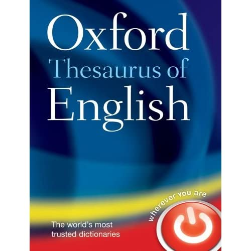 Oxford Thesaurus of English |s au: Amazon.co.uk: Oxford Dictionaries ...