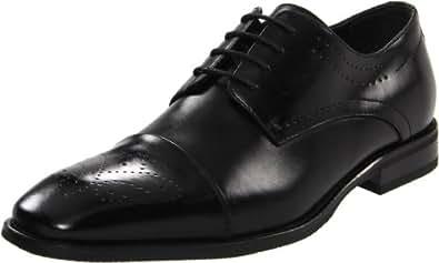 Robert Wayne Men's Madison Oxford, Black, 10.5 D (M) US