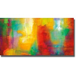 Color My World by Natalie Rhodes Premium Oversize Gallery-Wrapped Canvas Giclee Art (Ready to Hang)