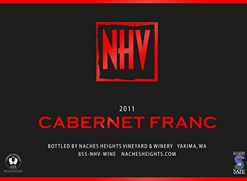 2011 Naches Heights Vineyards Cabernet Franc 750Ml