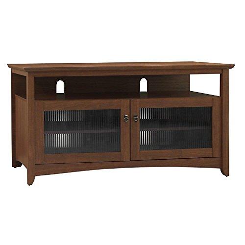 Bush Furniture My Space Collection Buena Vista TV Stand, Serene Cherry Assembled Bush