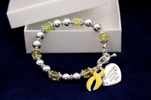 Yellow Ribbon Bracelet - Where There Is Love (Retail)