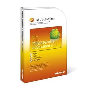 Telecharger office famille et tudiant 2010 s ries cl s - Office famille et petite entreprise 2013 telecharger ...