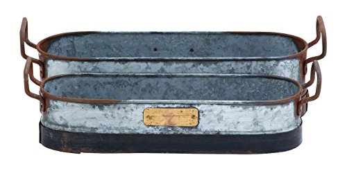 deco-79-galvanized-metal-planter-with-rust-and-crude-design-set-of-2