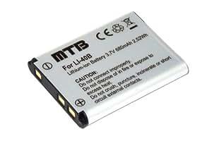 Batterie D-Li63 pour Pentax Optio L30, L40, M30, M40, T30, V10, W30