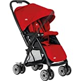 [HSB Bundle+] Joie Mirus Stroller - Poppy Red with Accompanying Pack of 10 Child Safety Door Stoppers