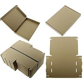 25 x Cajas Grandes de Papel C4 A4 para Envíos Postales - Tamaño: 335x230x23mm - vendidas por MEG4TEC