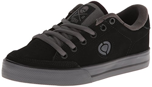 C1RCA Men's AL50-LR Fashion Sneaker,Black/Dark Gull,7.5 M US
