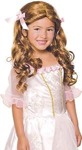 Rubies Gracious Brunette Princess Child Wig