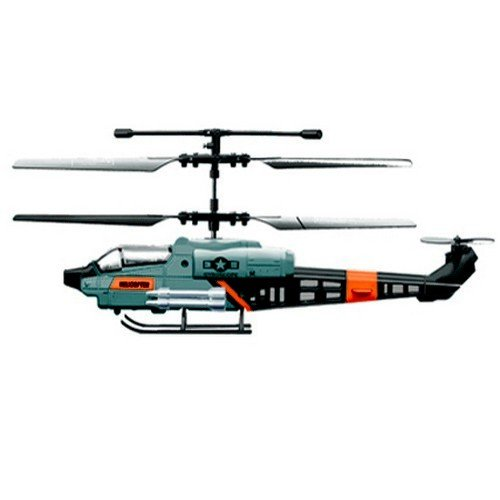 F301 3.5ch Channel Remote Control RC Military Toy Helicopter w/Gyro Gyroscope