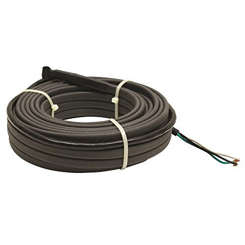 King Electric Srp246-12 240-Volt Self Regulating Pre Assemble Pipe Freeze Cable Kit, 12-Feet