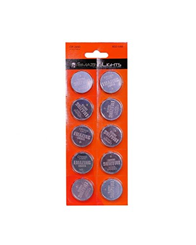 Emazing Lights CR2450 3 volt Button Cell Lithium Batteries (Pack of 20) (Car Remote Batteries Cr2450 compare prices)
