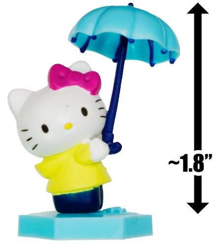 "Hello Kitty w/ an Umbrella ~1.8"": Hello Kitty Mini-Figure Collection Series #2"