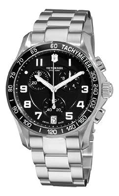 Victorinox Swiss Army Men's 241494 Chrono Classic Black Chronograph Dial Watch