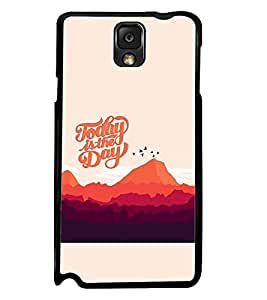 PRINTSWAG TEXT Designer Back Cover Case for SAMSAUNG GALAXY NOTE 3