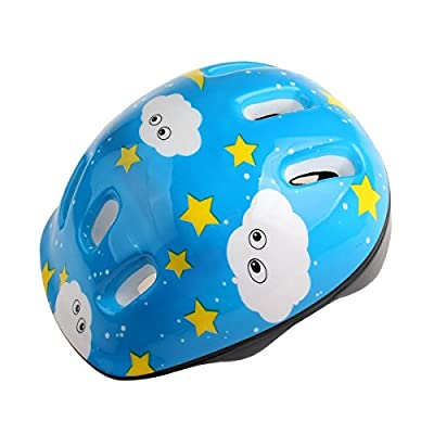 ISAKEN Child Multi-sport Helmet,Chilren Kids Skateboard Cycling Roller Skating Safety Protective Helmet with 6 Vents for Boys and Girls from ISAKEN
